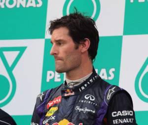 Mark Webber, le moral au plus bas après le Grand Prix de Malaisie, dimanche 24 mars 2013
