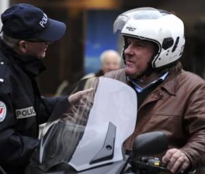 Avec son scooter, Gérard a connu quelques peines