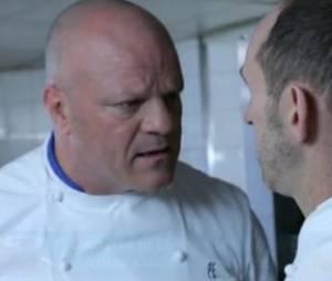Philippe Etchebest, vedette de Cauchemar en cuisine sur M6, a participé à une publicité pour la marque Danette.