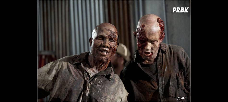 Les zombies se préparent dans The Walking Dead