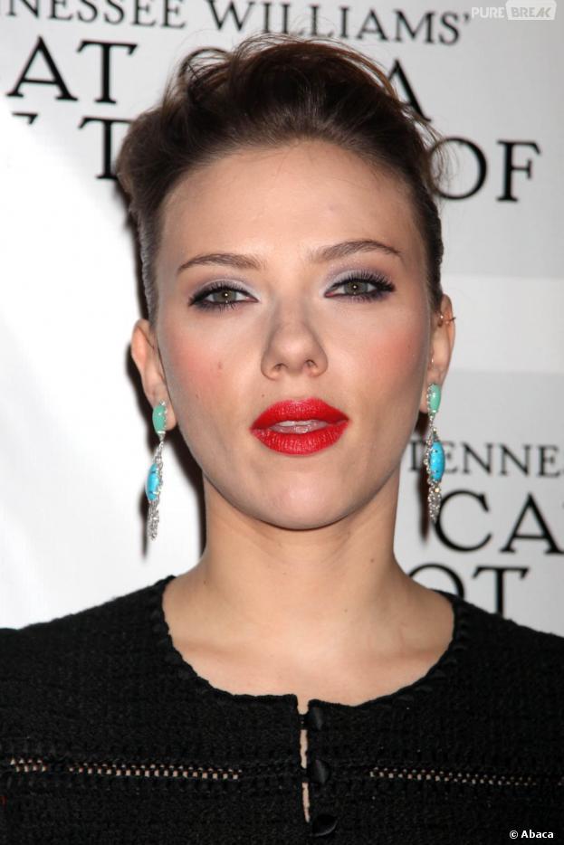 Scarlett Johansson, son physique ? Elle en joue