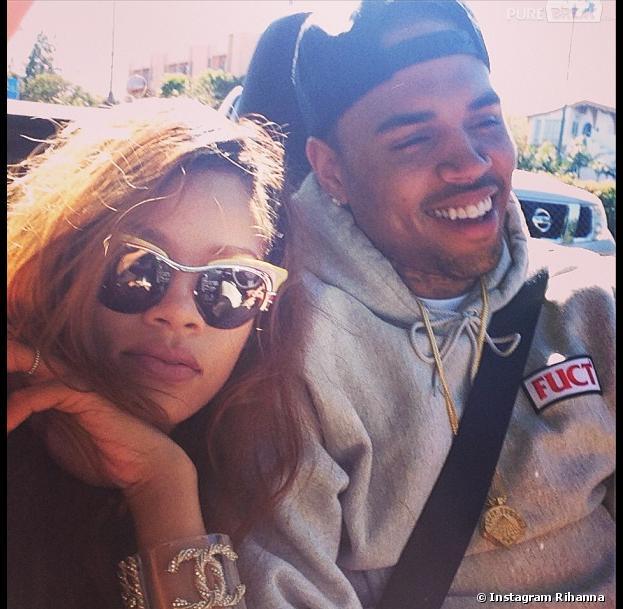 Rihanna a posté une photo d'elle avec Chris Brown pour faire taire les rumeurs de rupture
