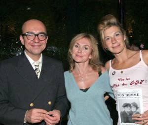 Karl Zéro aux côtés de sa femme Daisy et de Frigide Barjot