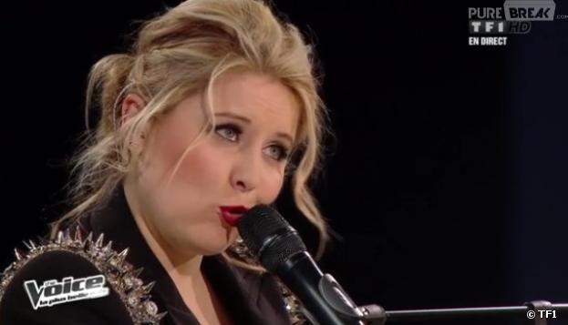 Marlène Schaff a interprété The Edge of Glory de Lady Gaga dans The Voice 2.