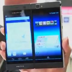 NEC : un smartphone double écran pour deux fois plus de plaisir