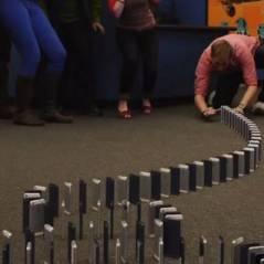 iPhone 5 : 10 000 téléphones pour la chute de dominos la plus chère du monde