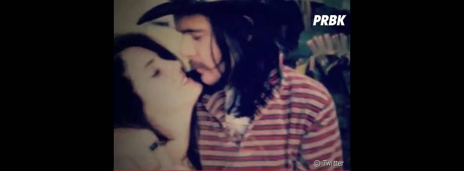 Un clip vintage en compagnie de son amoureux
