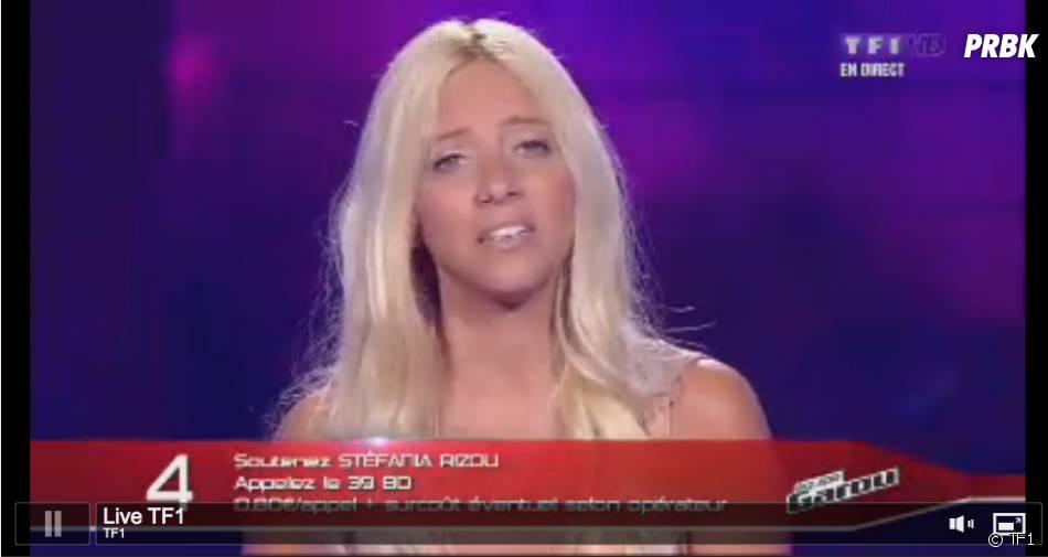 Stéfania et The Voice, c'est fini !
