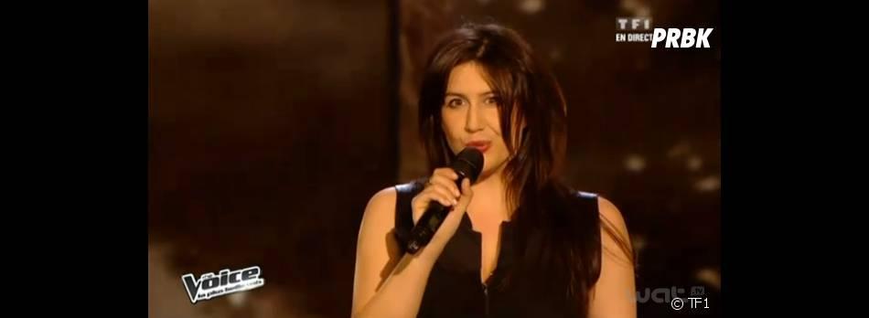 Sarah Caillibot éliminée de The Voice