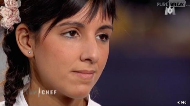 Naoëlle D'Hainaut manque la qualification immédiate pour la demi-finale de Top Chef 2013.