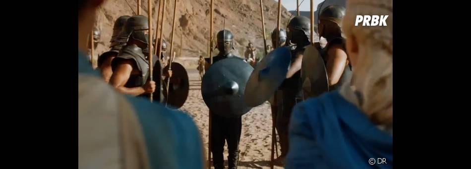 Daenerys fait connaissance avec son armée dans Game of Thrones