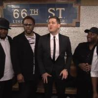 Michael Bublé : Concert surprise...dans le métro New-yorkais