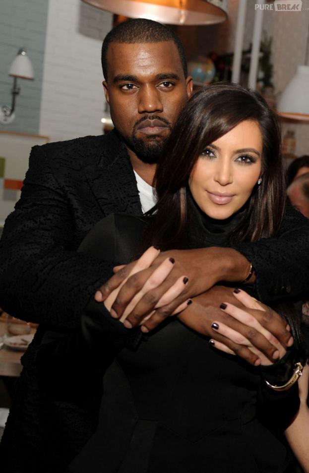 Kim Kardashian et Kanye West, un couple bling-bling... mais pas que