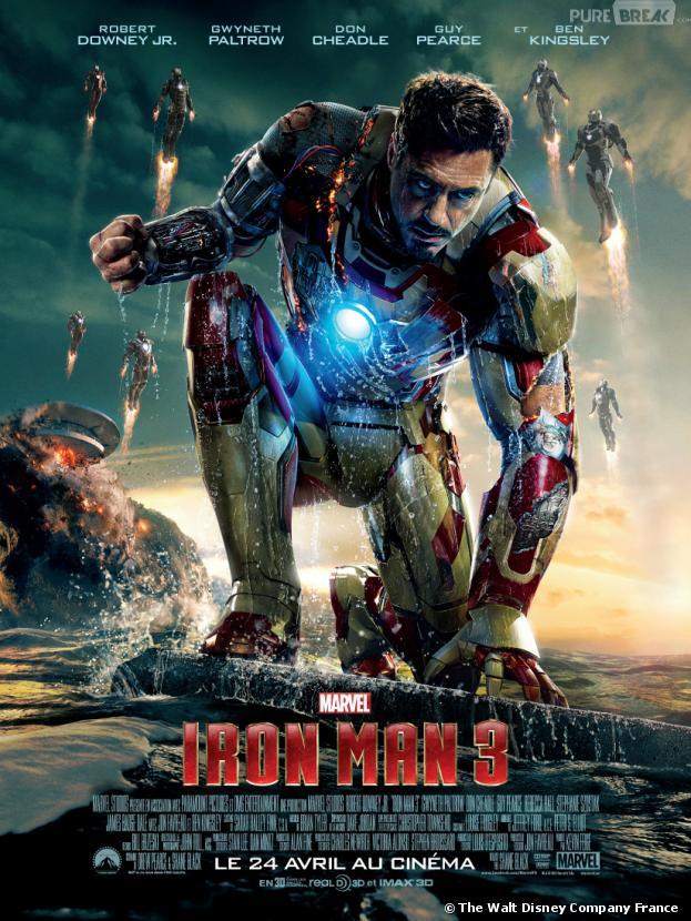Iron Man 3 met le box-office US à ses pieds