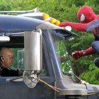 The Amazing Spider-Man 2 : le Rhino face à Peter Parker sur de nouvelles photos