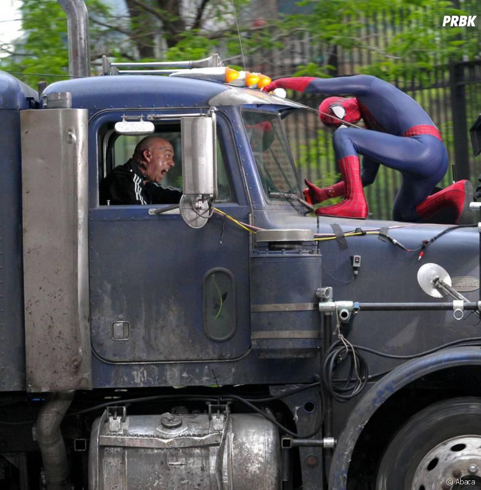 Un combat très musclé à venir dans The Amazing Spider-Man 2