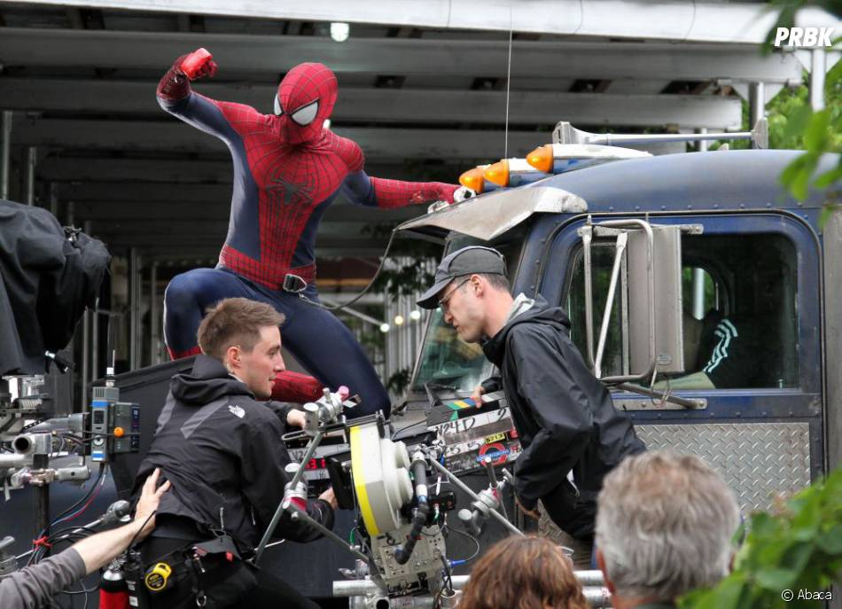 Une scène spectaculaire à venir dans The Amazing Spider-Man 2
