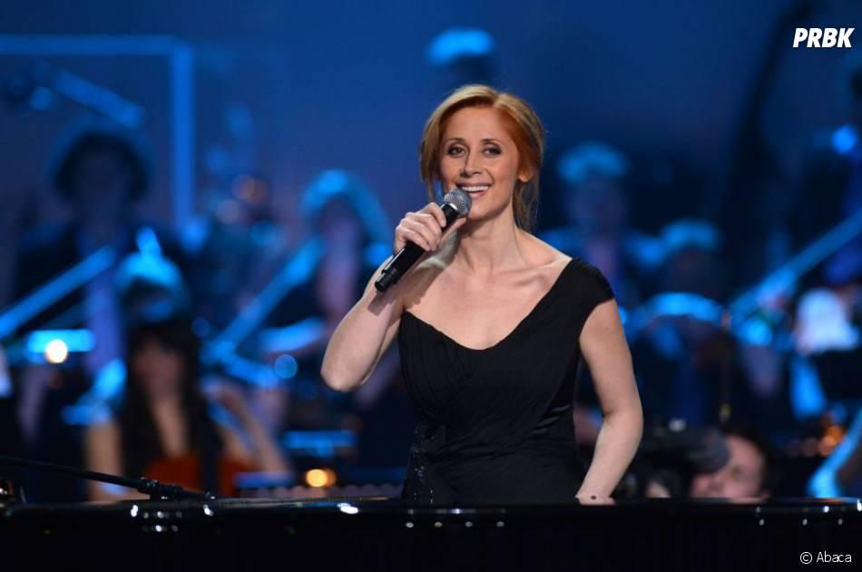 Lara Fabian, amie de Florent Pagny et invitée de la finale de The Voice 2 sur TF1