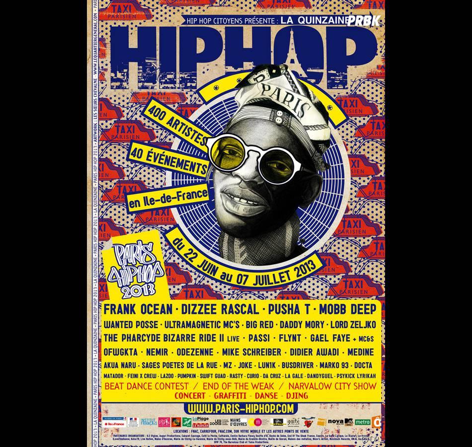 Le Festival Paris Hip Hop aura lieu du 22 juin au 7 juillet 2013