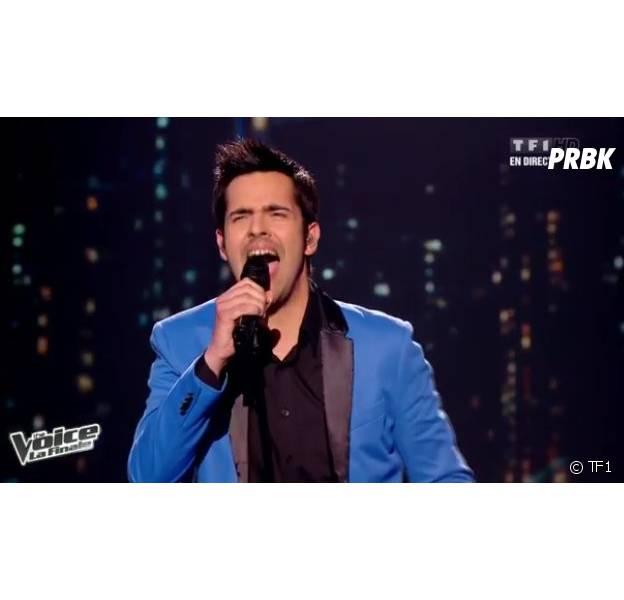 Yoann Fréget, véritable showman, a remporté The Voice 2 sur TF1.