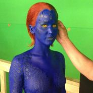 Jennifer Lawrence nue et bleue : première photo de Mystique pour X-Men Days Of Future Past