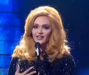 Valérie Bègue a offert une prestation de qualité en interprétant Skyfall d'Adele dans Un air de star.