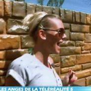 Les Anges de la télé-réalité 5 : Amélie Neten terrorisée par un gros Dobermann