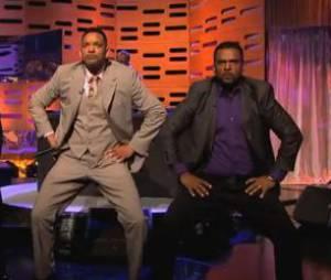 """Will Smith a provoqué la folie avec son fils et """"Carlton"""" sur le plateau du Graham Norton Show."""