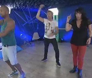 Jerôme Anthony s'entraîne pour devenir Psy dans Un air de star