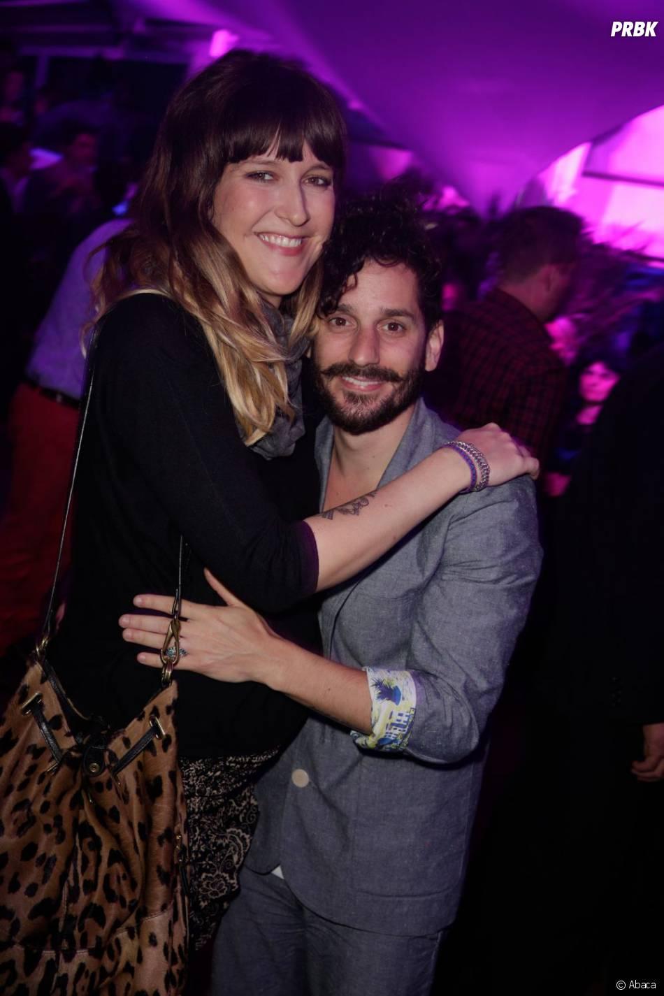 Daphné Bürki enceinte et son compagnon Gunther Love