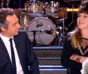 Daphné Bürki enceinte quitte le Grand Journal le 30 mai 2013