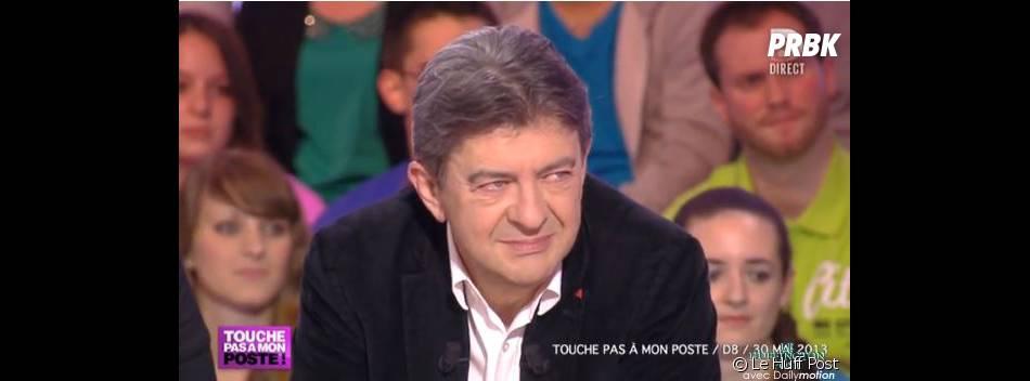 Intervention en direct d'une intermittente du spectacle devant Jean-Luc Mélenchon, invité de l'émission de Cyril Hanouna sur D8