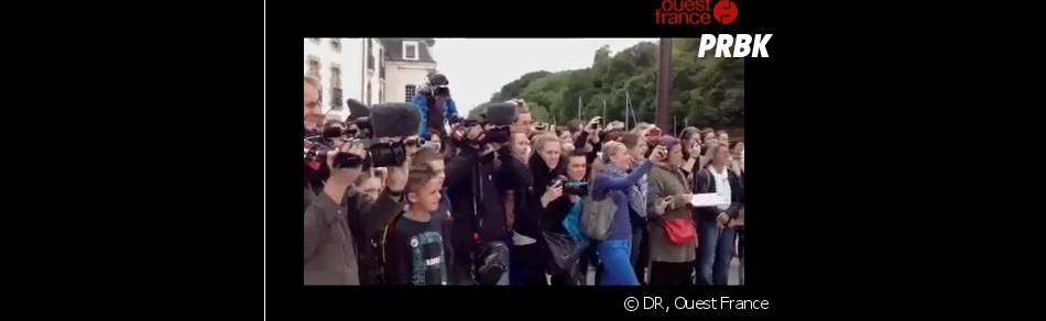 La foule est au rendez-vous pour soutenir Les Ch'tis font leur tour de France