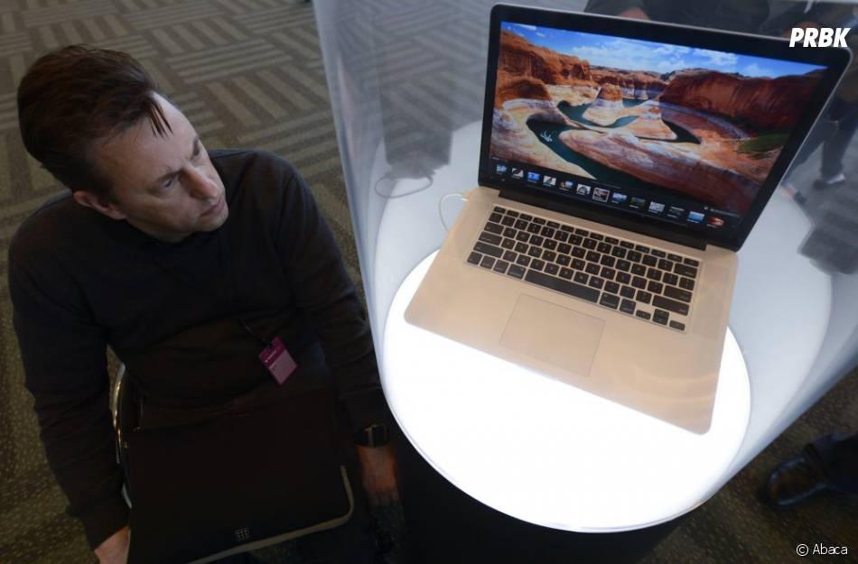 Apple pourrait équiper ses MacBook d'un écran tactile