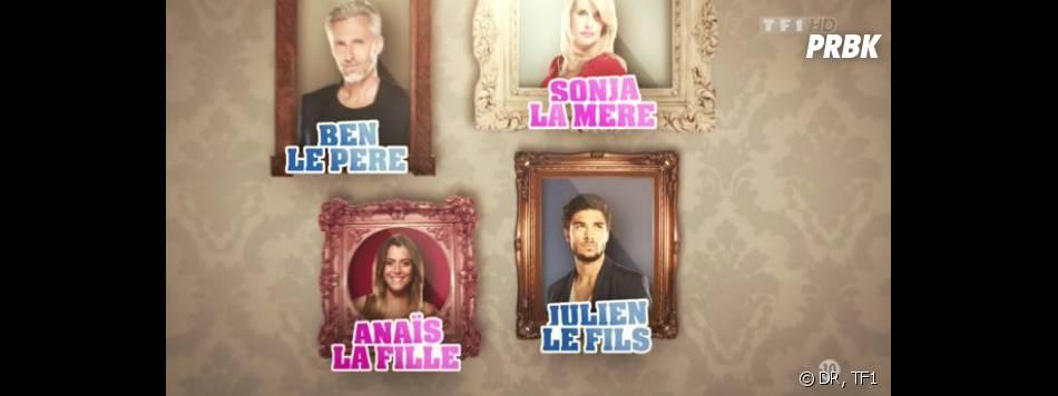 Secret Story 7 : la famille Vanderbeck au grand complet