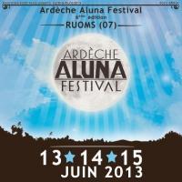 Festival Ardèche Aluna : du 13 au 15 juin 2013