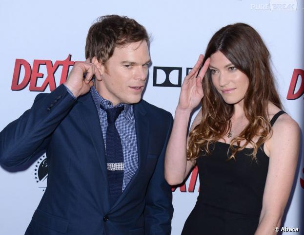 Michael C. Hall et Jennifer Carpenter à la soirée Dexter saison 8, le 15 juin 2013 à L.A