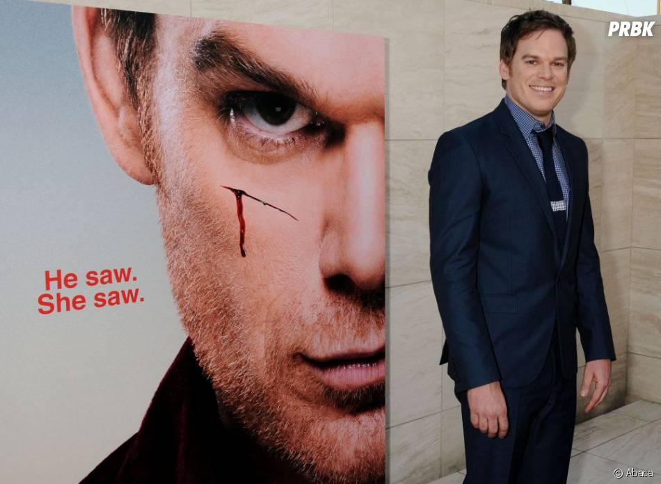 Michael C. Hall tout sourire à la soirée Dexter saison 8, le 15 juin 2013 à L.A
