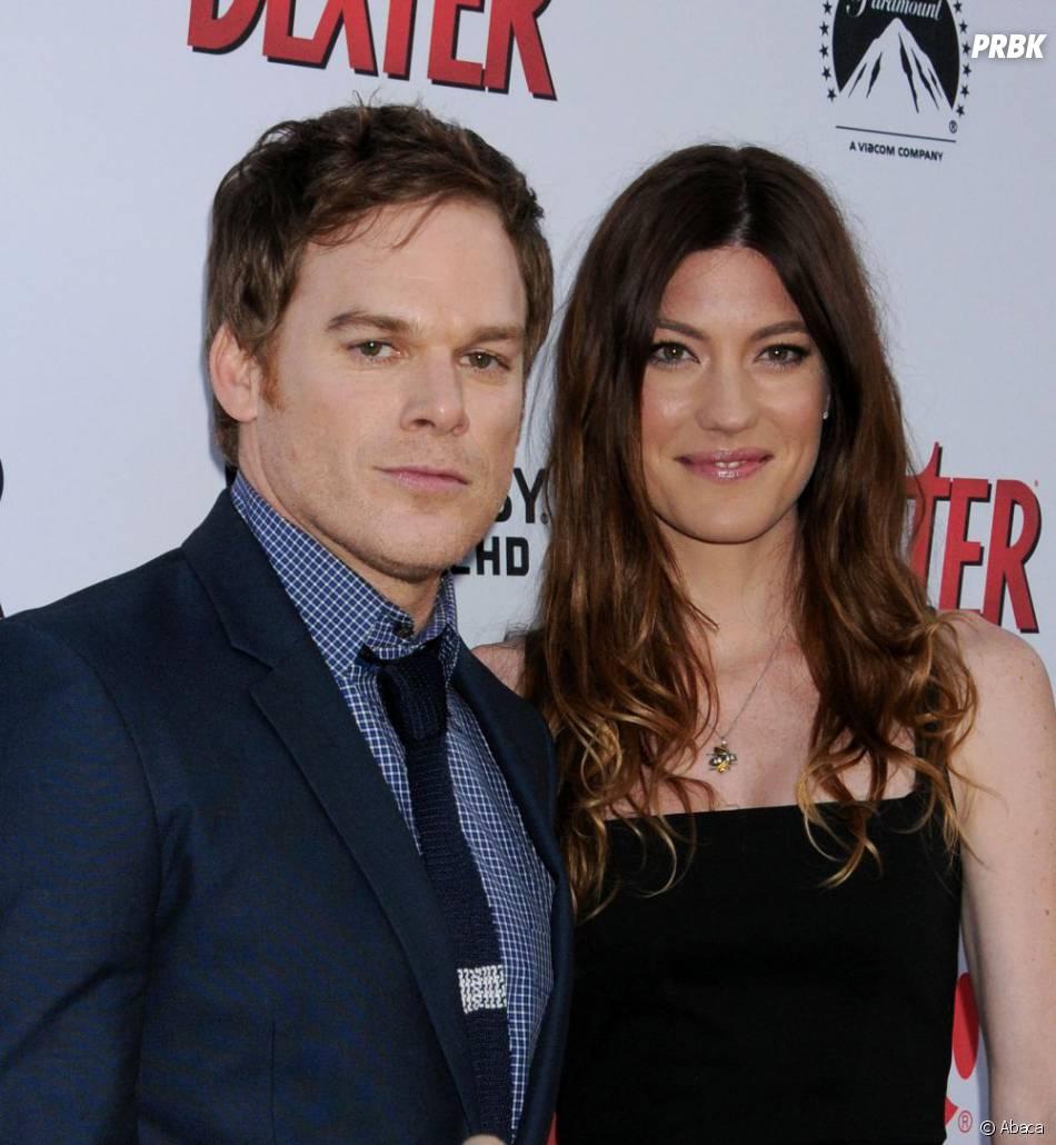 Michael C. Hall et Jennifer Carpenter fêtent la saison 8 de Dexter, le 15 juin 2013 à L.A