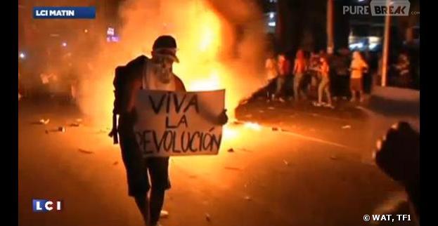 A Rio, des scènes de guérilla urbaine
