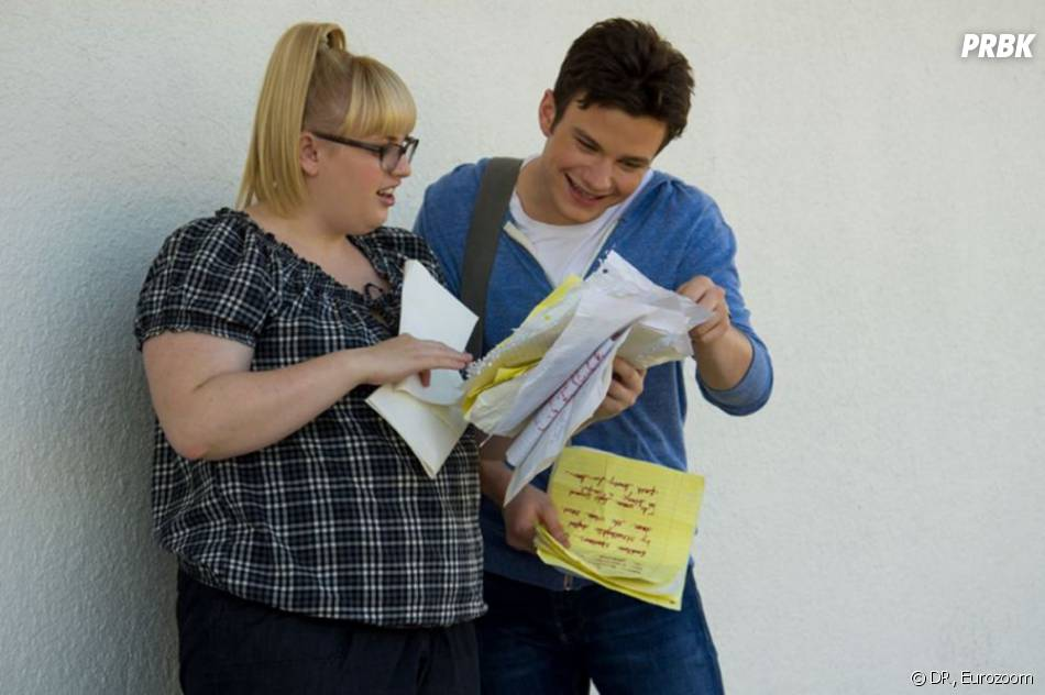 Chris Colfer et Rebel Wilson dans Struck