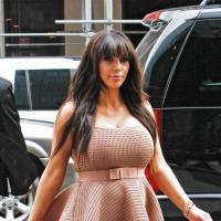 Kim Kardashian enceinte et en bikini quelques jours avant son accouchement