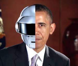 Barack Obama : le remix de Get Lucky par le président américain