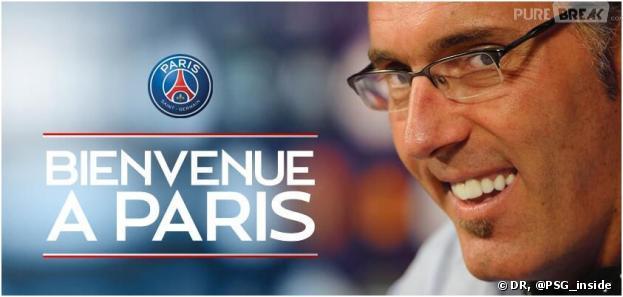 Le PSG souhaite la bienvenue à Laurent Blanc