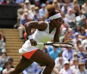 Serena Williams et son shorty flashy à Wimbledon 2013