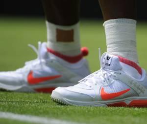 Les chaussures flashy de Serena Williams à Wimbledon 2013