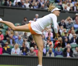 Maria Sharapova et sa touche orange à Wimbledon 2013