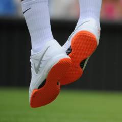 Roger Federer : Wimbledon 2013 en guerre contre ses semelles oranges