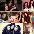 Kim Kardashian a posté un montage de ses photos avec sa soeur Khloe