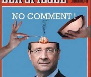 Un fausse Une du Der Spiegel avec François Hollande berne Twitter